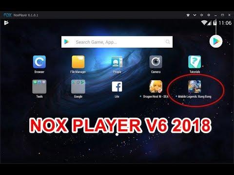 Tutorial Download Instal dan Menggunakan NOX Player v6 Terbaru 2018 for  Mobile Legends