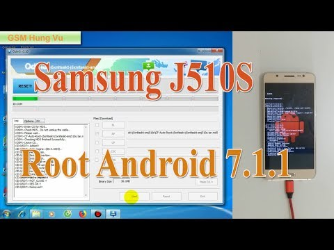 Root Samsung J5 2016 (J510s) Android 7.1.1 Odin.