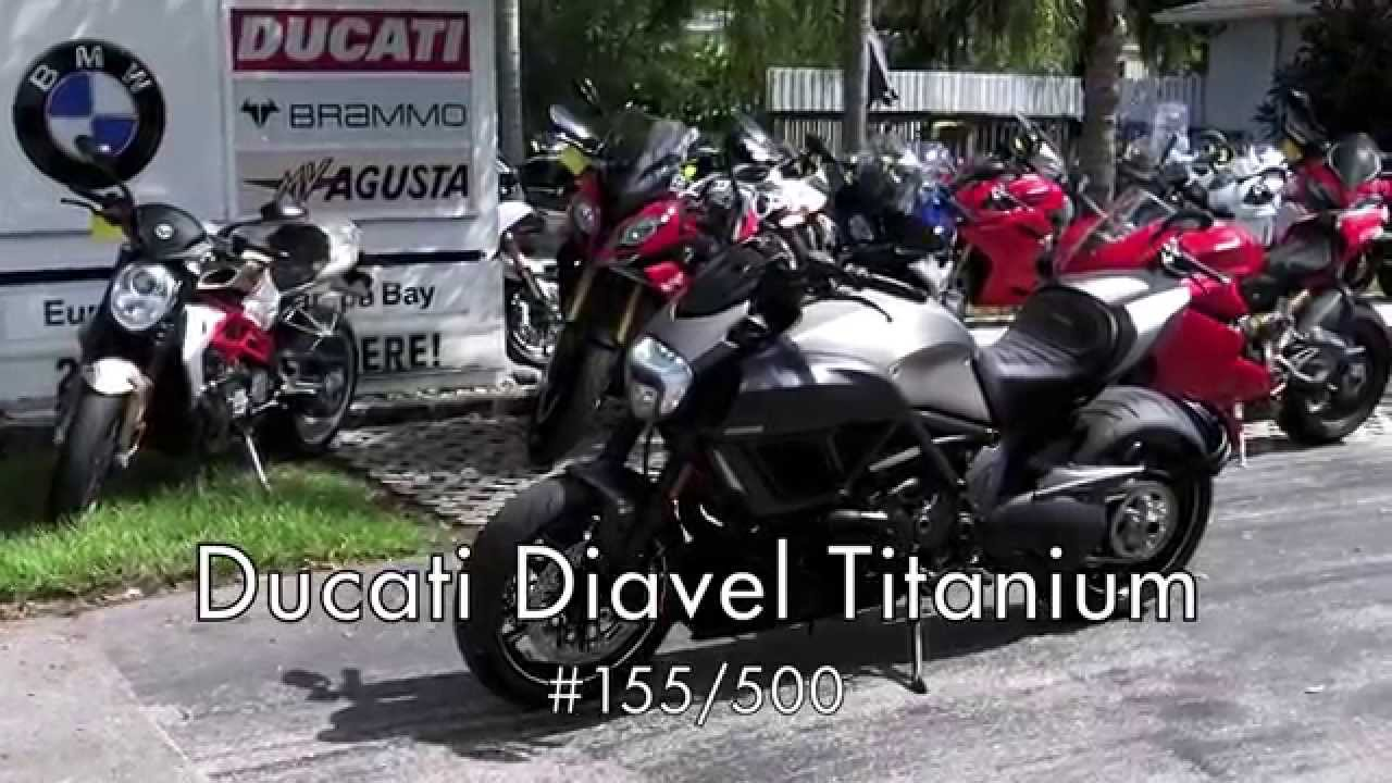 2015 ducati diavel titanium #155/500 at euro cycles of tampa bay