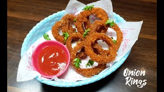 ONION RINGS RECIPE | QUICK & EASY RECIPE | QUARANTINE RECIPES | AARTI'S KITCHEN