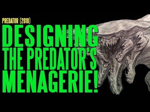 PREDATOR 2018 Designing the Predator''s Menagerie ADI BTS