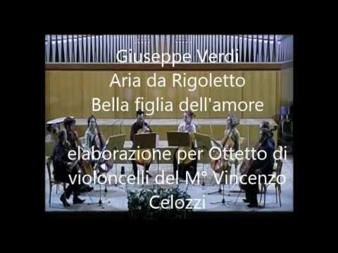 """Verdi - Aria da Rigoletto """"Bella figlia dell'amore"""" - Cello Octet"""