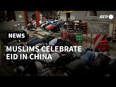China: Beijing's Muslim community gathers for Eid prayers at mosque | AFP