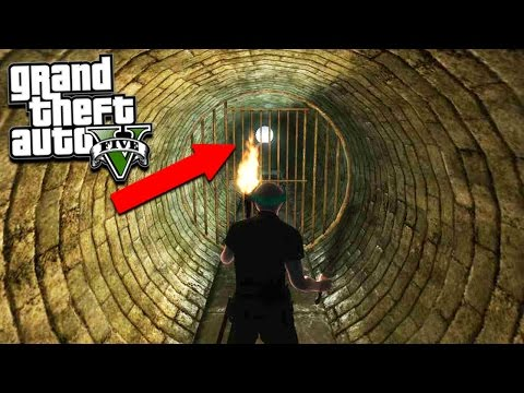 GTA 5 DO NOT GO DOWN THIS TUNNEL! GTA 5 Boogie Man Found! (GTA 5)