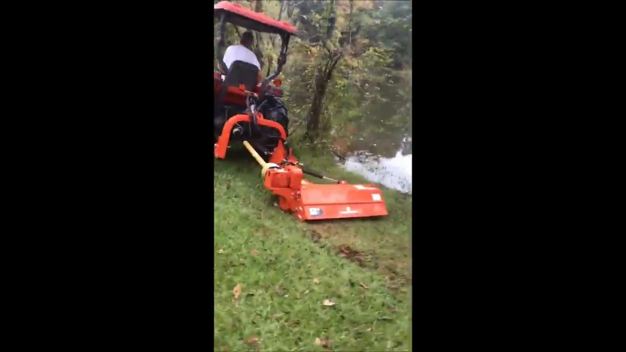 Ditch Bank Offset Flail Mowers - MA 120 SICMA - Waterproof!