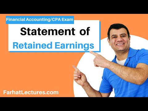 statement of retained earnings example