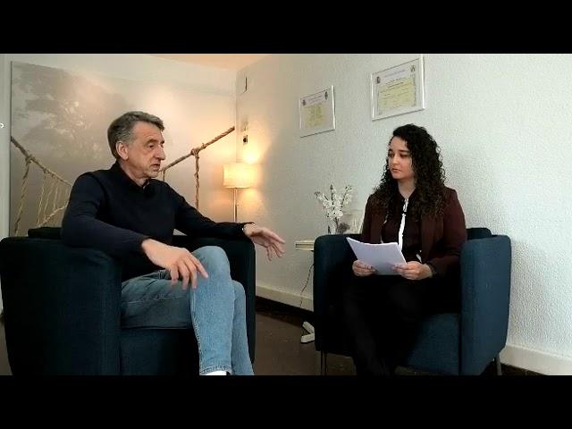 1 de 2 Entrevista al psicólogo Mariano Navarro, especialista en duelo e intervención en catástrofes.