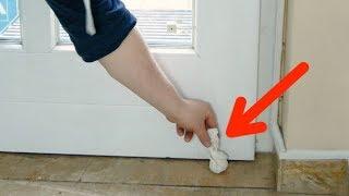문 뒤에 레몬 껍질을 두어야 할 이유가 여기에. 어마어마한 효과!
