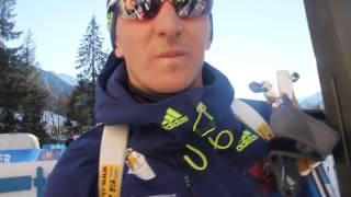 Дмитрий Пидручный. Флеш-интервью после индивидуальной гонки в Антхольце. 20/01/2017