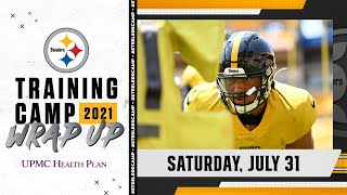 Pittsburgh Steelers Training Camp Wrap Up: July 31