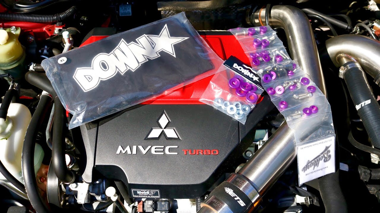 Evo 9 engine bay dress up | Civic EK9 Engine Bay Build? Berapa