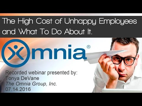 The High Cost of Unhappy Employees and What To Do About It