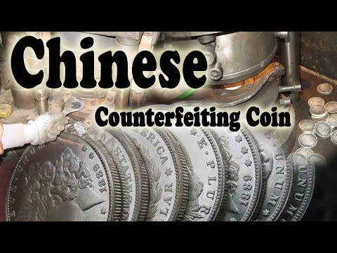 Chinese Counterfeiting Coin