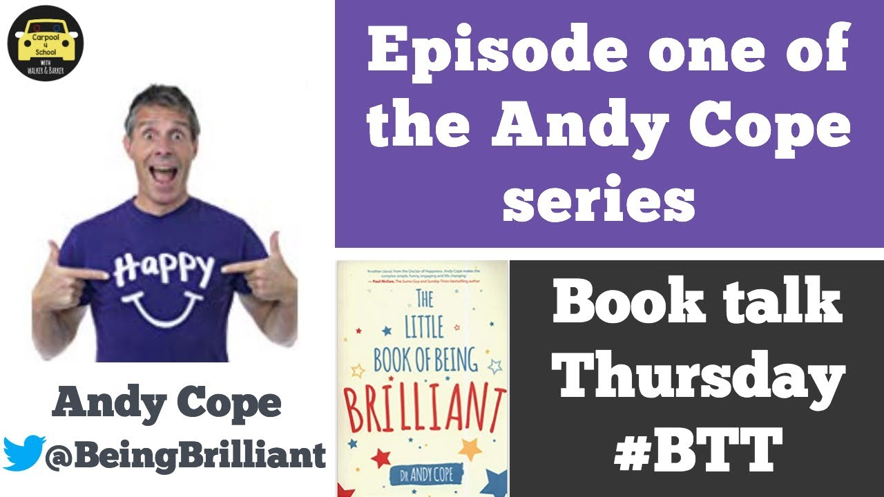 Episode one of the @BeingBrilliant series - Book Talk Thursday - YouTube