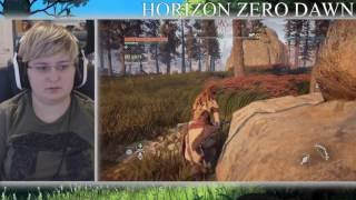 Horizon Zero Dawn Playthrough Part 4 - Pissing Off The Beasts