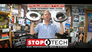 homepage tile video photo for 2018 VW GTI SE Ep.342: Updates and Front Slotted Rotor Unboxing