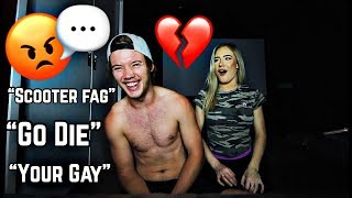 REACTING TO HATE COMMENTS!