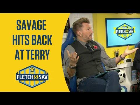 Robbie Savage responds to John Terry criticism | Fletch and Sav