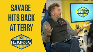 Robbie Savage responds to John Terry criticism | Fletch and Sav