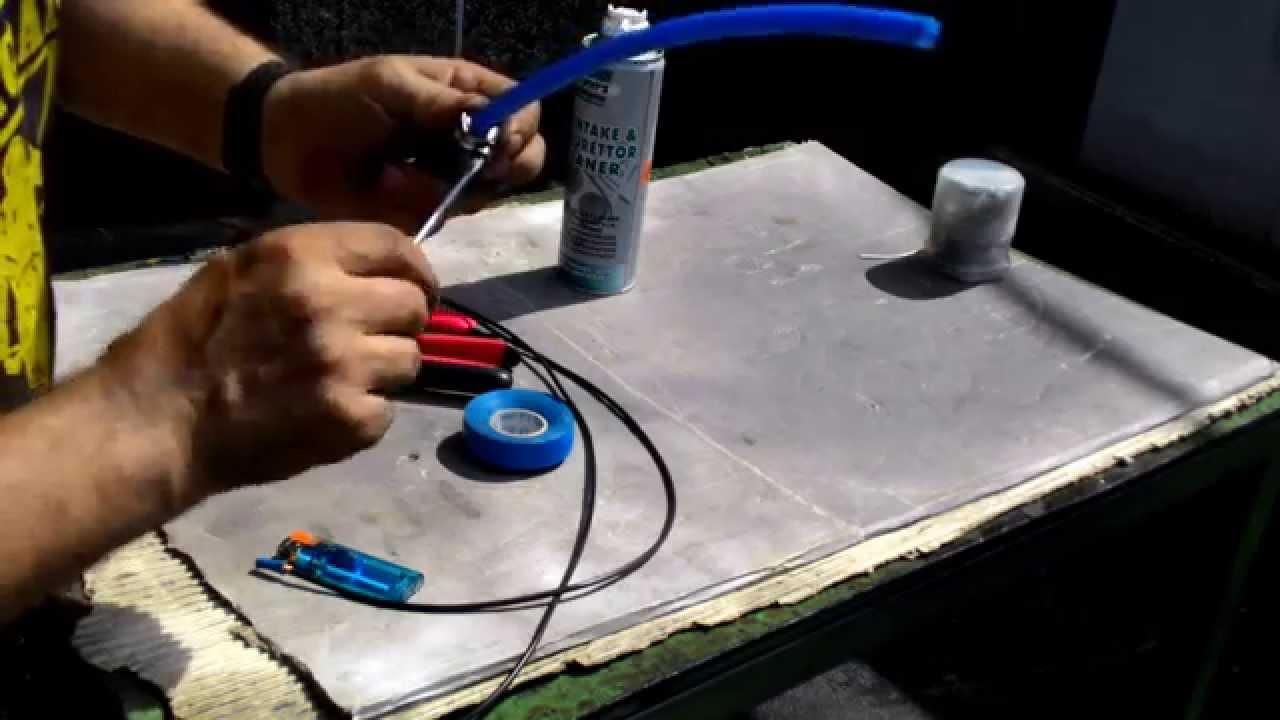 come fare l 39 impianto per pulizia iniettori fai da te youtube