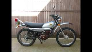 1974 Honda MT125 Elsinore Restoration Slide Show