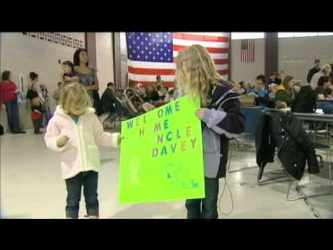 Members Of Wisconsin Air National Guard Return