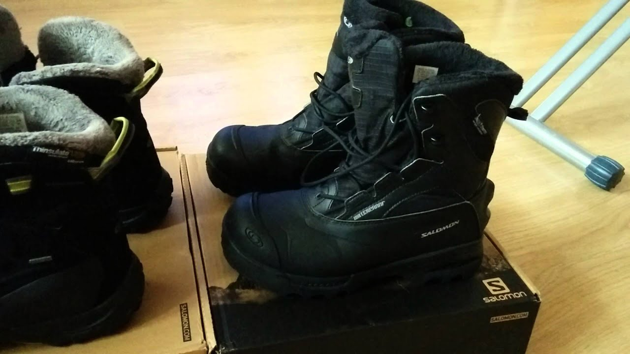 Salomon B52 TS GTX и Salomon Taundra MID WP 2015 - YouTube 205ef3a7aad9f