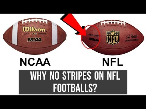 No Stripes On NFL Footballs? But Why? (Why Are There No Stripes On NFL Footballs)