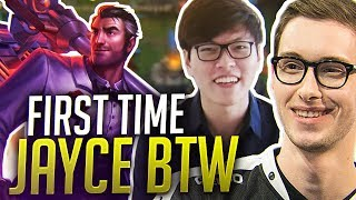 FIRST TIME JAYCE BTW FT. MIKE YEUNG - Bjergsen
