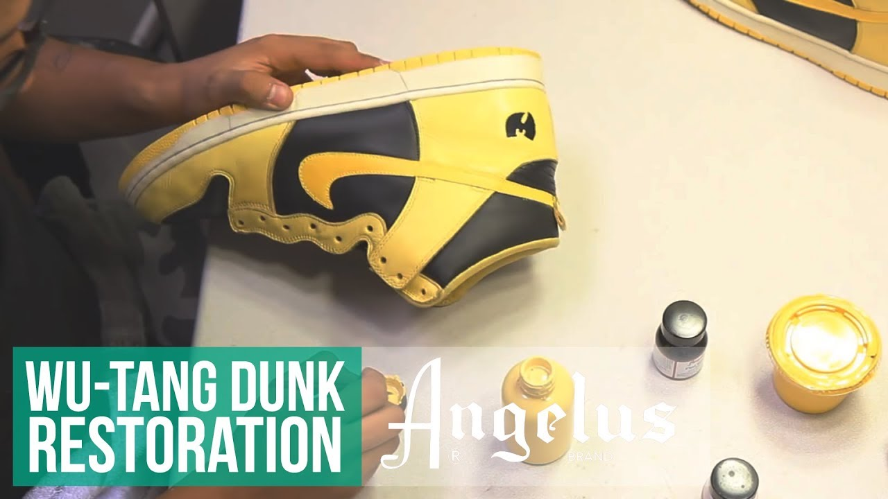 quality design cd0d3 cbabc Wu-Tang Sample Nike Dunk | Restoration