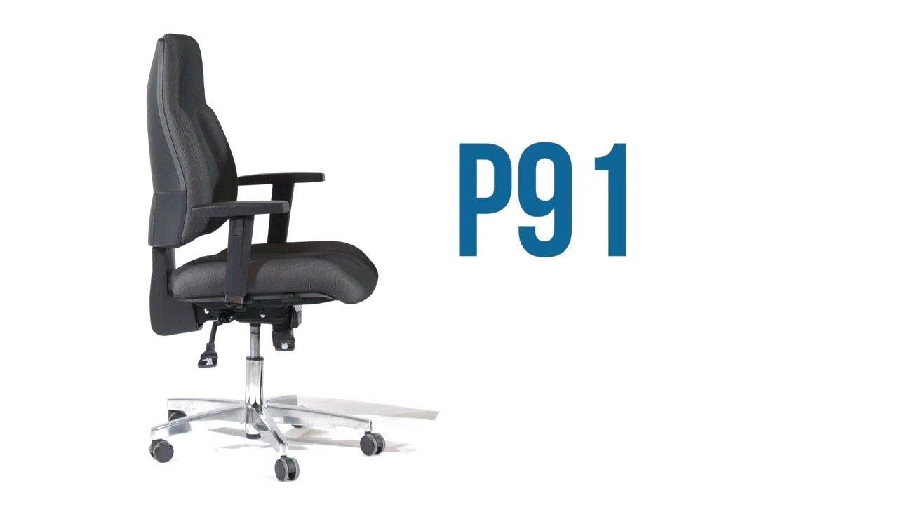 P91 AL.G3 Siège de bureau de qualité professionnelle