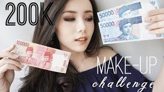 200k makeup challenge   eva rinjani