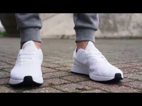 V Black And White Casual Shoes