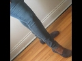 DIY: How I straight leg my size 16 jeans to a size 10 skinny jeans