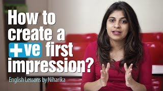 5 tips To Make a Killer First Impression - Personality Development & English lessons by Niharika thumbnail