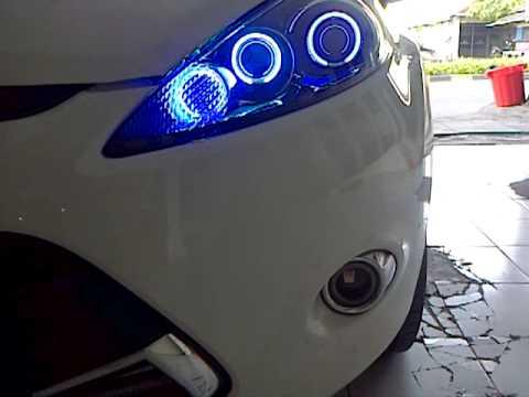 Custom Headlamp Ford Fiesta By Ym Gunungsari Youtube