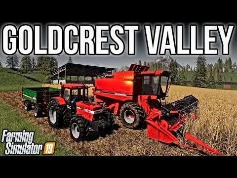 NEW MODS FS19! GOLDCREST VALLEY FROM FS17! | FARMING SIMULATOR 19