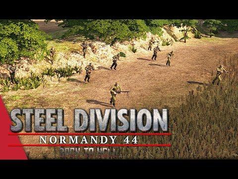 Chickendew's ET Round 2! Steel Division: Normandy 44 - YueJin vs Gonzo (Caumont l'Éventé, 1v1)