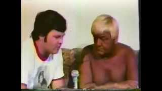 Classic Memphis Lawler & Dundee Interview Jackie Fargo Wrestling 1979