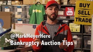 Tips - Bankruptcy Auctions!