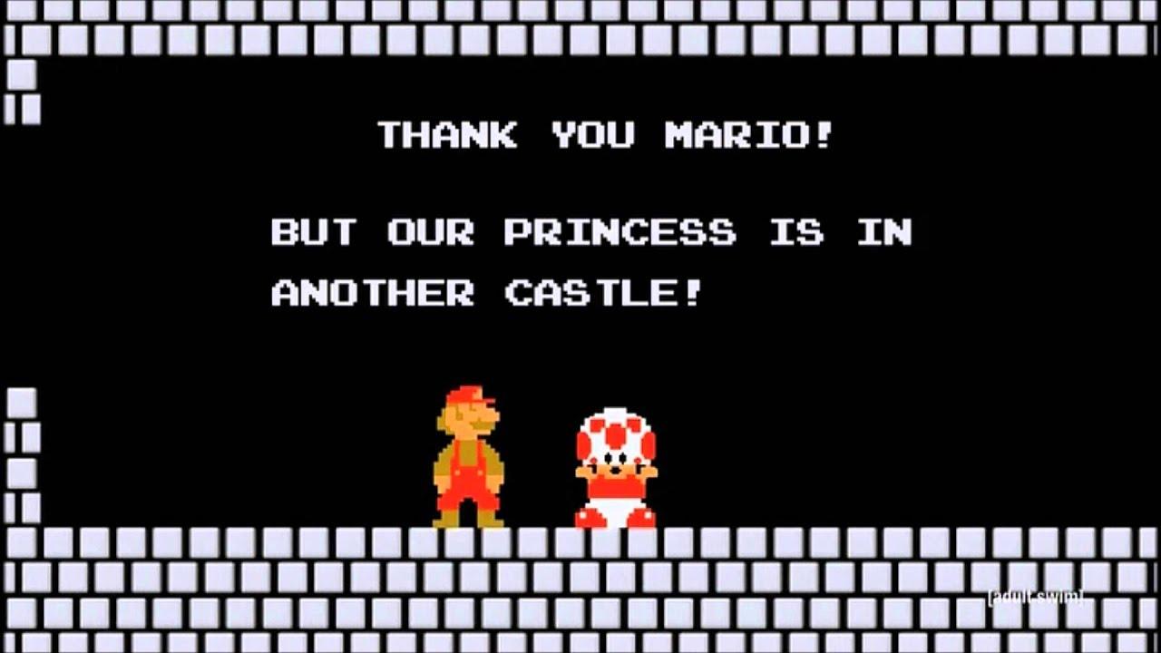 Thank You Mario Robot Chicken Youtube