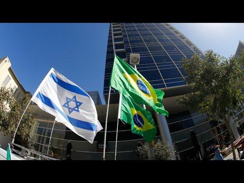 Brazil's Bolsonaro To Follow Trump In Moving Israeli Embassy To Jerusalem
