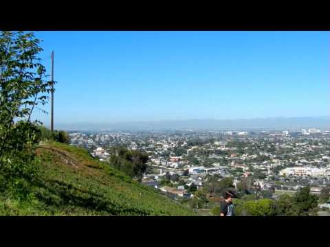 The view from Rocketship Park in Torrance, CA.