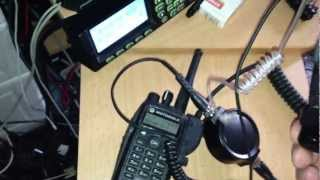 MotoTRBO DP3600 Throat Mic Testing