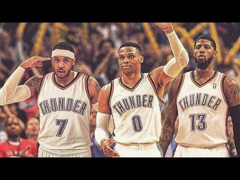 Carmelo Anthony Traded to Thunder! OKC Creates Big 3! NBA Off Season 2017