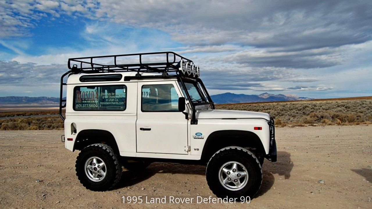 1995 land rover defender 90 youtube. Black Bedroom Furniture Sets. Home Design Ideas