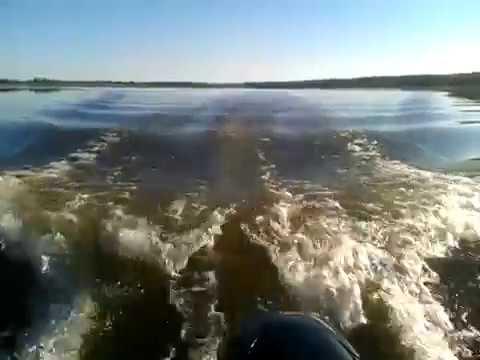 Рыбалка на Яузском водохранилище с лодки HDX 370
