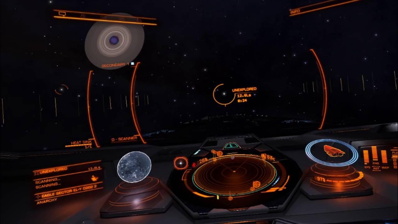 Elite Dangerous Oculus Rift Cv1 Anaconda Cockpit And Eagle Nebula