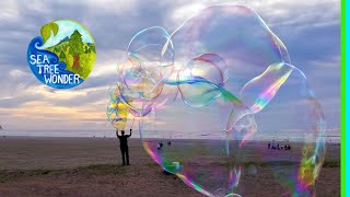 BUBBLES: Floating Magical Rainbows Inspiring Joy & Playful Possibilities in Seaside Oregon