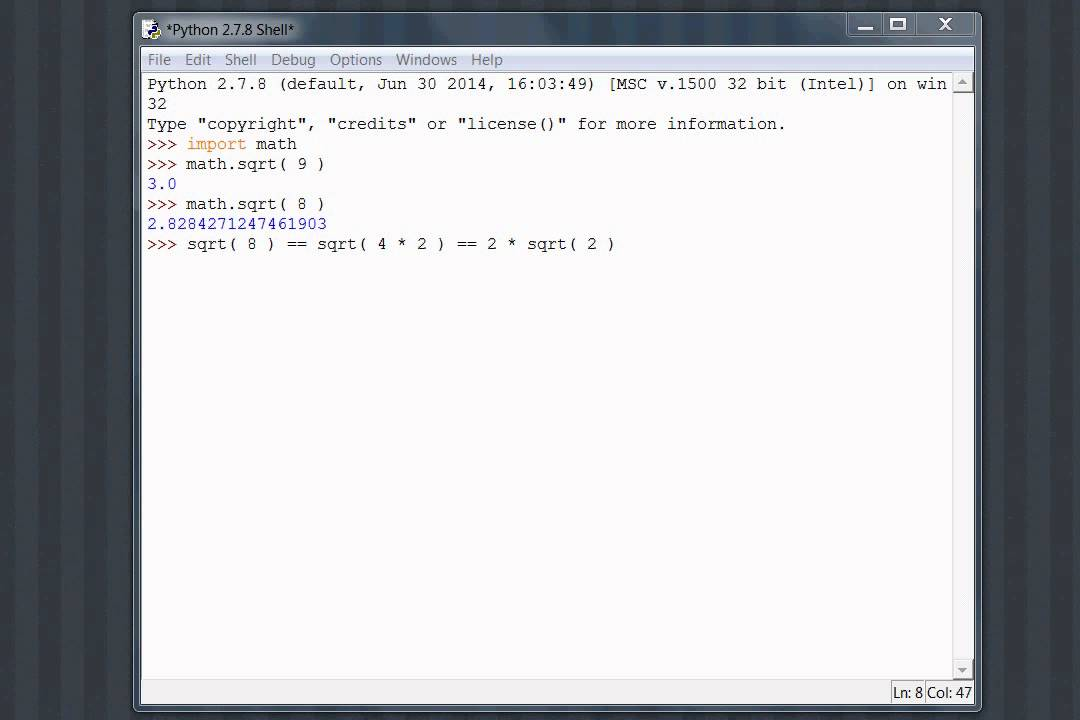 Python Sympy 01 Introduction Youtube